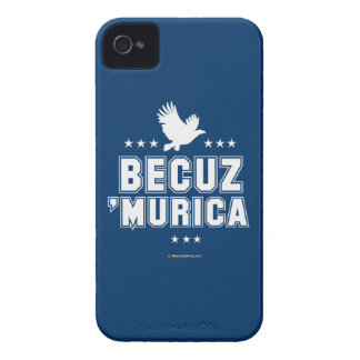 Becuz 'Murica iPhone 4 Covers