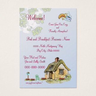 Bed and Breakfast Business Card (Or?)
