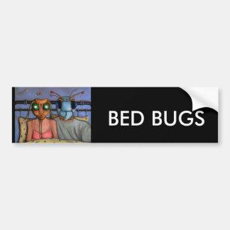 Bed Bugs Car Bumper Sticker
