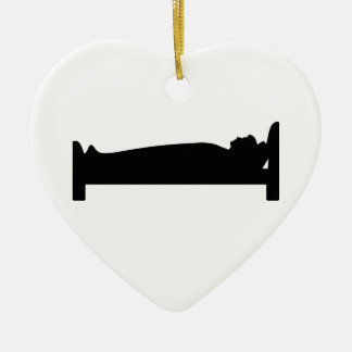 Bed Ceramic Heart Decoration