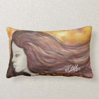 bed girl lumbar cushion