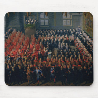 Bed of Justice Held at the Parlement de Paris Mouse Pad
