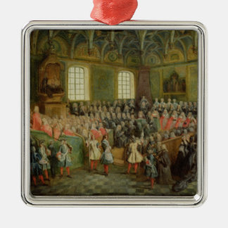 Bed of Justice Held in the Parliament Christmas Ornament