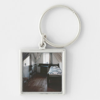 Bed, towel rail designed by Ford Madox Brown Key Ring