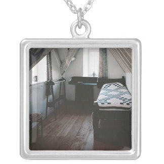Bed, towel rail designed by Ford Madox Brown Silver Plated Necklace
