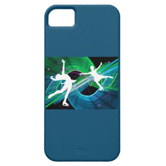 Bedazzled Figure Skaters Ice Skating iPhone 5 Cases