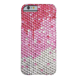 BEDAZZLED IN PINK Barely There iPhone 6 Case