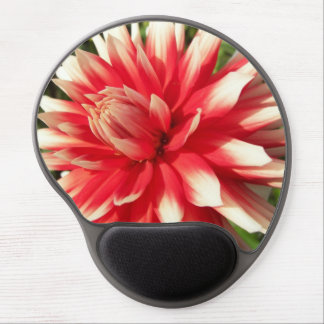 Bedazzling Dahlia Floral Photo Gel Mouse Pad