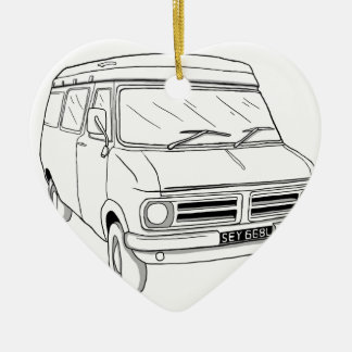 Bedford CF1 Christmas Ornament