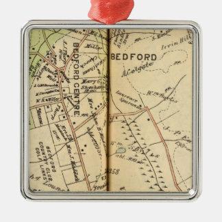 Bedford, New York 2 Christmas Ornament