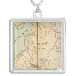 Bedford, New York 2 Silver Plated Necklace