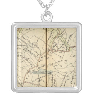 Bedford, New York Silver Plated Necklace
