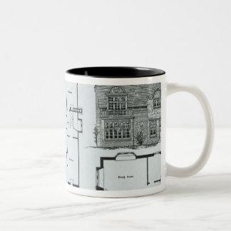Bedford Park Estate Two-Tone Coffee Mug