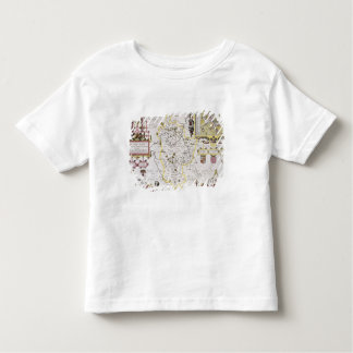 Bedfordshire and the situation of Bedford Toddler T-Shirt
