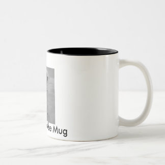 Bedlington Mum Coffee Pot Two-Tone Coffee Mug