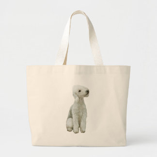 Bedlington Terrier (A) Large Tote Bag