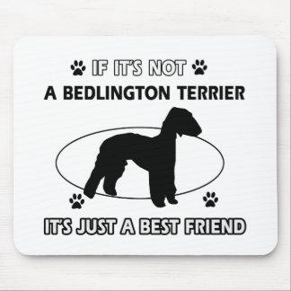 BEDLINGTON TERRIER best friend designs Mouse Pad