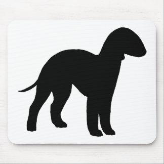 Bedlington Terrier (black) Mouse Pad