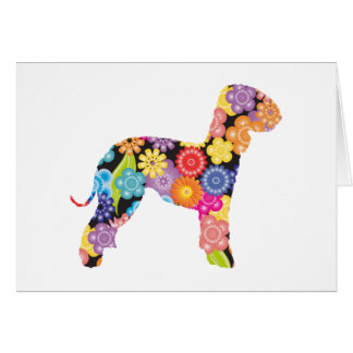 Bedlington Terrier Card