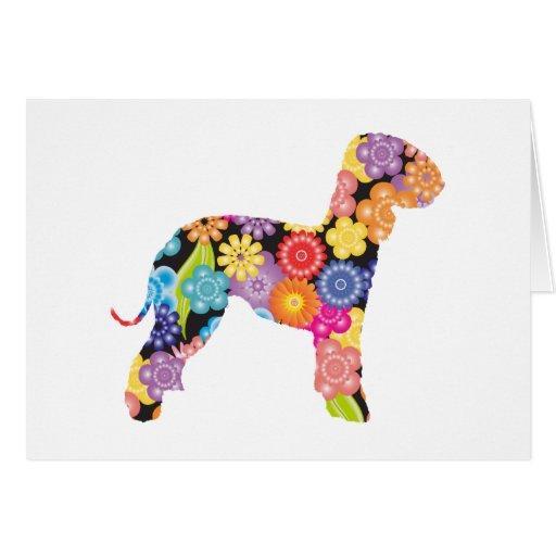 Bedlington Terrier Cards
