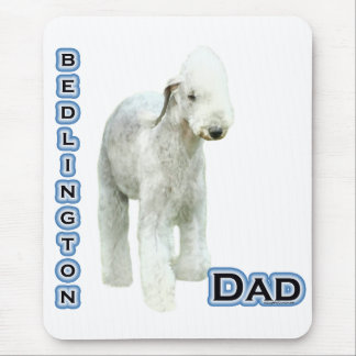 Bedlington Terrier Dad 4 Mouse Pad