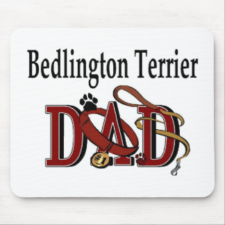 Bedlington Terrier Dad Gifts Mouse Pad