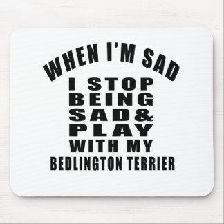 BEDLINGTON TERRIER Designs Mouse Pad