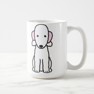 Bedlington Terrier Dog Cartoon Classic White Coffee Mug