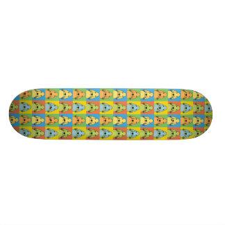 Bedlington Terrier Dog Cartoon Pop-Art Skate Board