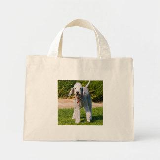 Bedlington Terrier dog cute beautiful photo Canvas Bag