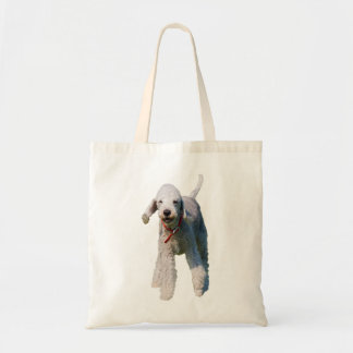 Bedlington Terrier dog cute beautiful photo Tote Bag