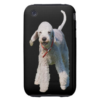 Bedlington Terrier dog cute beautiful photo Tough iPhone 3 Cases