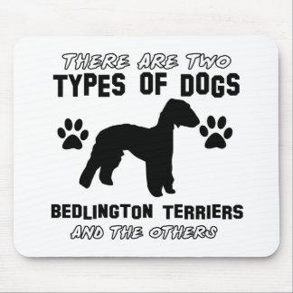 Bedlington Terrier dog designs Mouse Pad