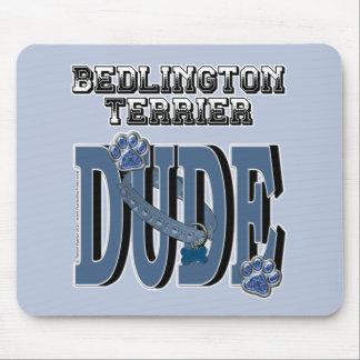 Bedlington Terrier DUDE Mouse Pads