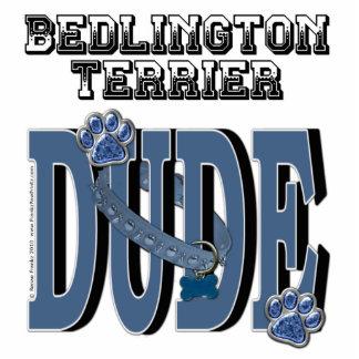 Bedlington Terrier DUDE Standing Photo Sculpture