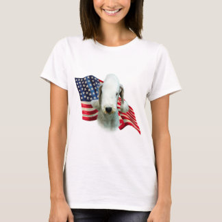 Bedlington Terrier Flag T-Shirt
