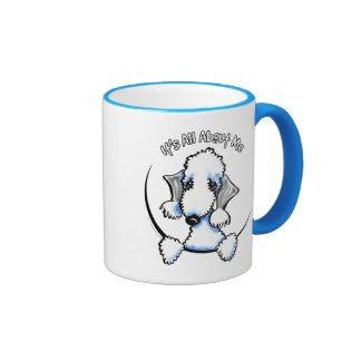 Bedlington Terrier IAAM Ringer Mug