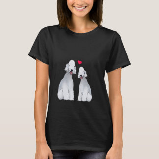 Bedlington Terrier Illustrated T-Shirt