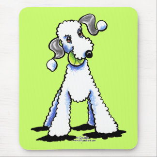 Bedlington Terrier Let's Play Mouse Pad