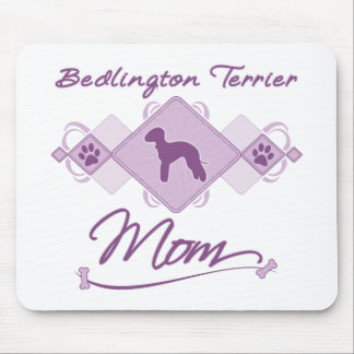 Bedlington Terrier Mom Mouse Pad