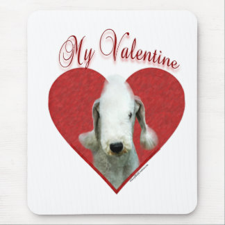 Bedlington Terrier My Valentine Mouse Pad