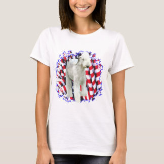 Bedlington Terrier Patriot T-Shirt