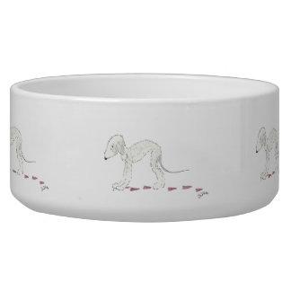 Bedlington Terrier Pet Bowl