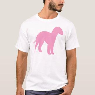 Bedlington Terrier (pink) T-Shirt