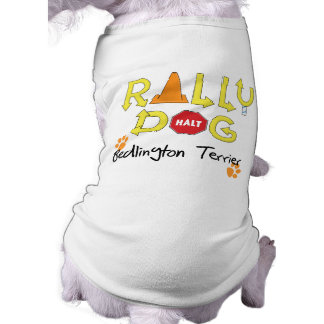 Bedlington Terrier Rally Dog Sleeveless Dog Shirt