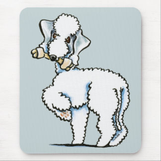 Bedlington Terrier Rosie Mouse Pads