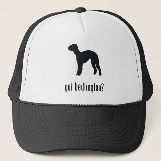Bedlington Terrier Trucker Hat