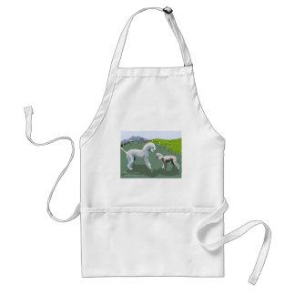 Bedlington Terriers - Meeting your Hero Standard Apron