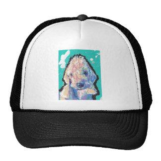 Bedllington Terrier Pop Art Cap