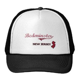 Bedminster New Jersey City Classic Mesh Hats